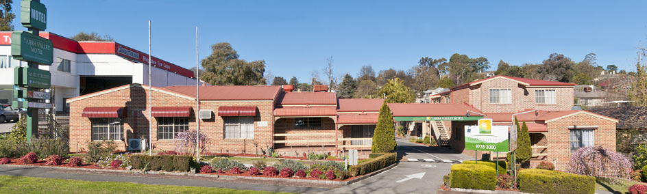 The Yarra Valley Motel is perfectly situated at the gateway to the Yarra Valley, in Lilydale.